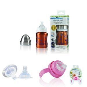Pack Biberon Isotherme évolutif 0-12 Mois – 120 Ml – BULLES