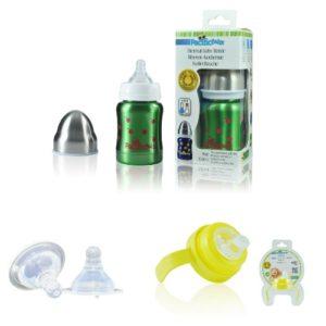 Pack Biberon Isotherme évolutif 0-12 Mois – 120 Ml – CERISES