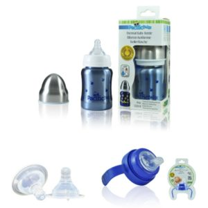 Pack Biberon Isotherme évolutif 0-12 Mois – 120 Ml MYRTILLES