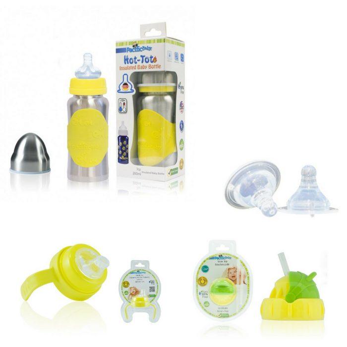 Pack Isotherme évolutif 0 - 5 Ans-jaune