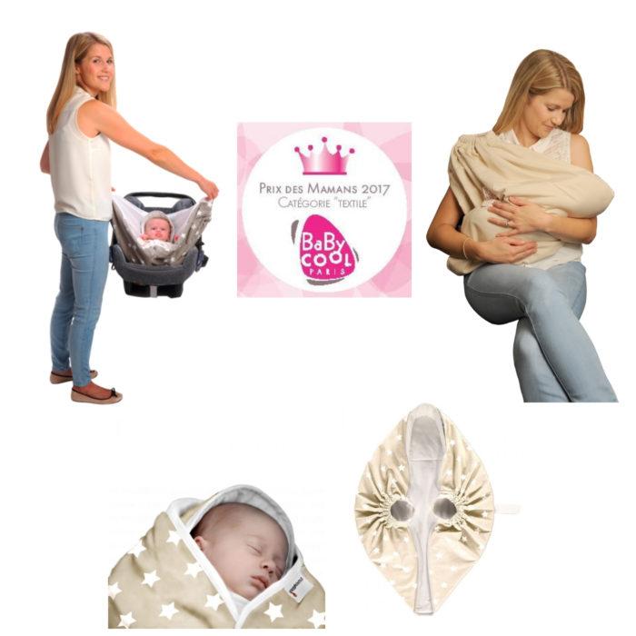 Couverture-emmaillotage-crème-étoiles-snugglebundl-avec-prix-des-mamans-2017