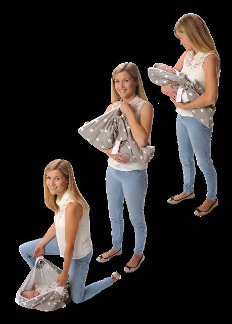 Couverture-emmaillotage-grise-snugglebundl-différentes-positions