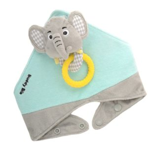 Bavoir-bandana-elie-elephant-seul