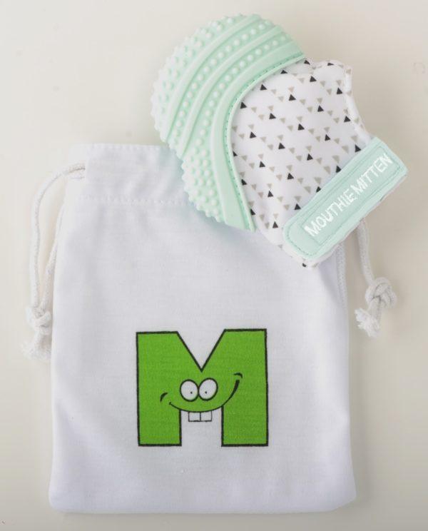 Mitaine-de-dentition-mouthie-mitten-vert-menthe