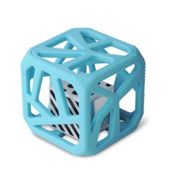 Hochet Cube De Dentition Facile à Agripper –  Bleu
