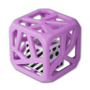 Hochet Cube De Dentition Facile à Agripper –  Mauve