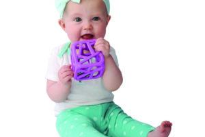 Hochet-cube-Malarkey-Kids-mauve