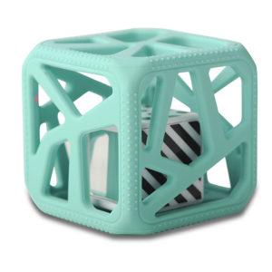 Hochet Cube De Dentition Facile à Agripper –  Vert Clair