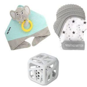 Pack 3 Cadeaux Bébé ELIE L'Eléphant