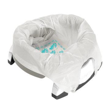 Potette-pot-gris-clair-pieds-blanc-avec-recharge-jetable