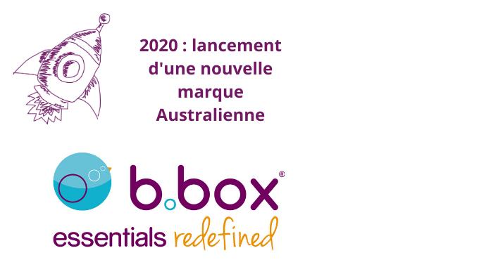 2020 : Lancement De La Marque Australienne B.box