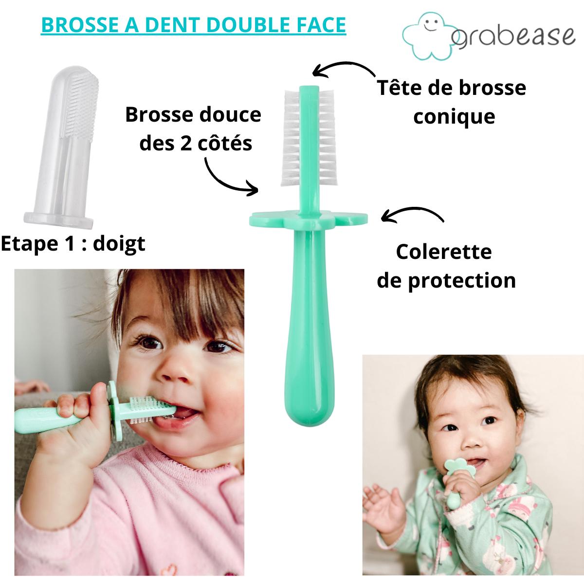 Brosse à Dents Double Face  Grabease